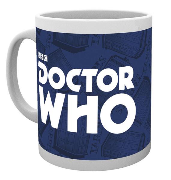 Taza Doctor Who - Logo