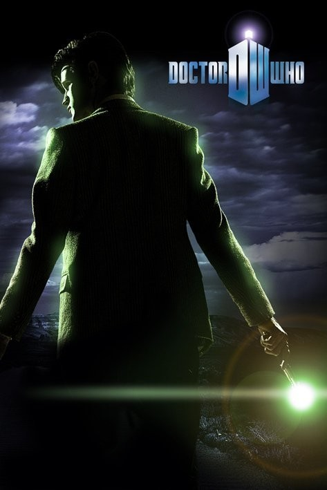 DOCTOR WHO - sonic scredriver - плакат (poster)