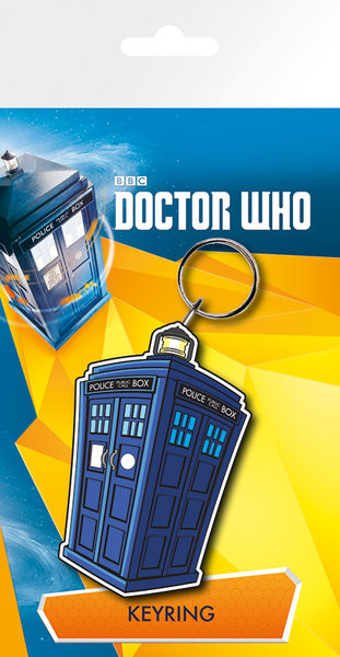Doctor Who - Tardis Illustration Breloc