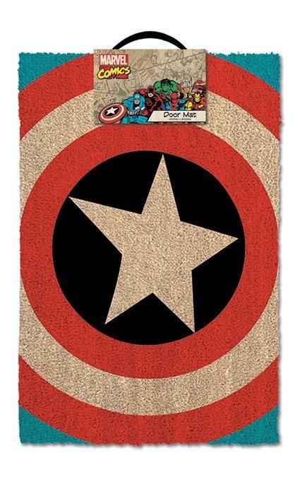 Dörrmatta Captain America - Shield