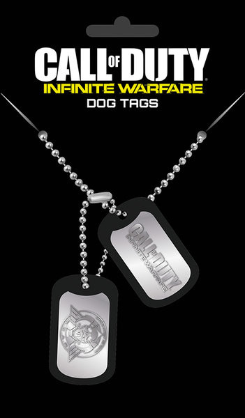 Call Of Duty: Infinite Warefare - Logo Dog tags