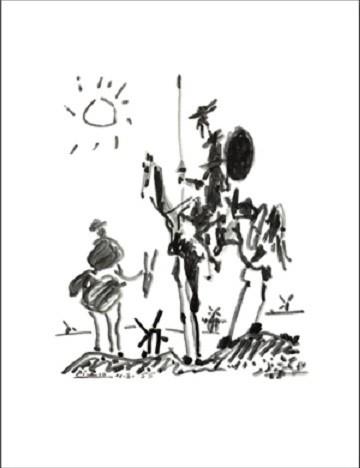 Don Quichotte Festmény reprodukció