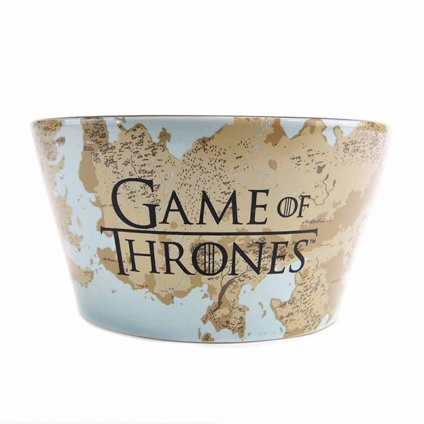 Miska Hra o trůny (Game of Thrones) - Plaque & Map