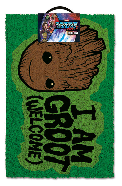 Guardians Of The Galaxy - I am Groot - Welcome Dørmåtte