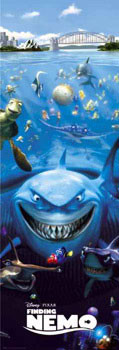 FINDING NEMO - one sheet Dørplakater