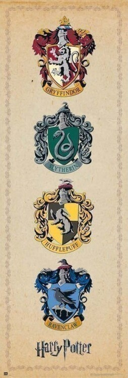 Harry Potter - House Crests Dørplakater
