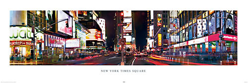 New York - Times square Dørplakater
