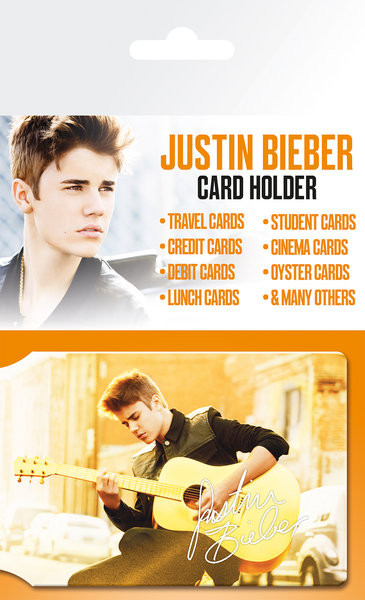 JUSTIN BIEBER - belieber  Držalo za kartice