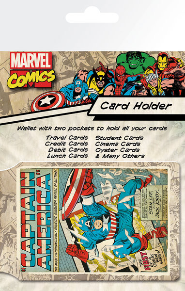 MARVEL - capitan america Držalo za kartice