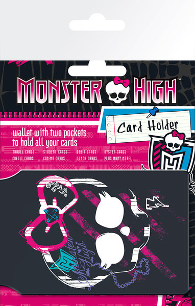 MONSTER HIGH - Logo Držalo za kartice