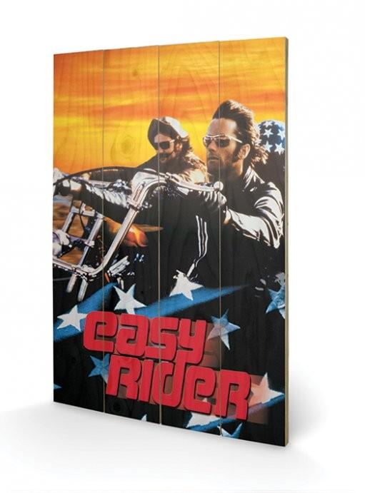Bild auf Holz Easy Rider - Cruising