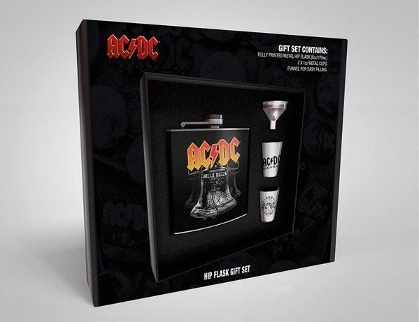 Laposüveg: Ajándék szett AC/DC - Hells Bells