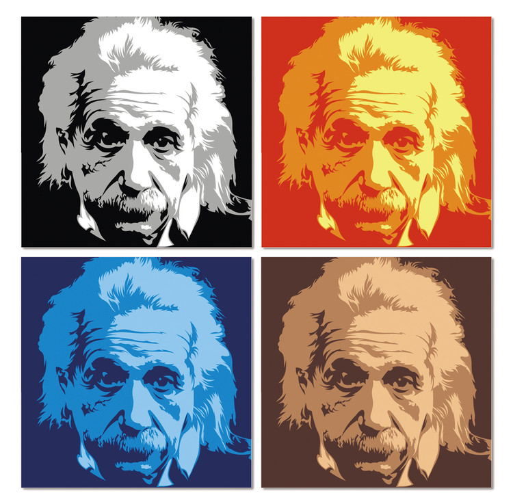 Einstein Modern tavla