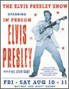 ELVIS PRESLEY - heartbreak hotel Metalen Wandplaat