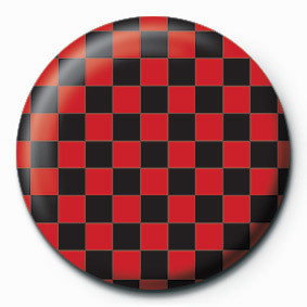 Emblemi CHECK (RED & BLACK)