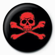 Emblemi  SKULL & CROSSBONES (RED)