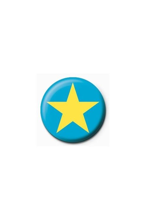 Emblemi STAR - blue/yellow
