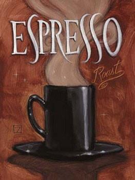 Espresso Roast Festmény reprodukció