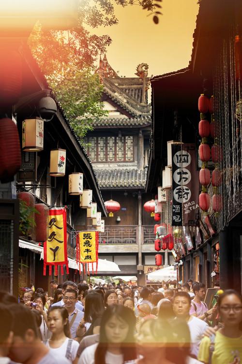 Exklusiva konstfoton China 10MKm2 Collection - Street Atmosphere