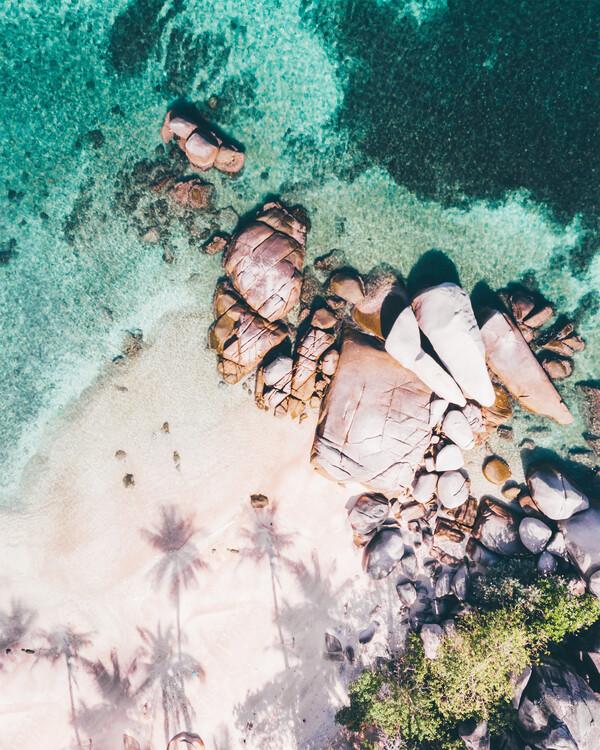 Exklusiva konstfoton Desert Island