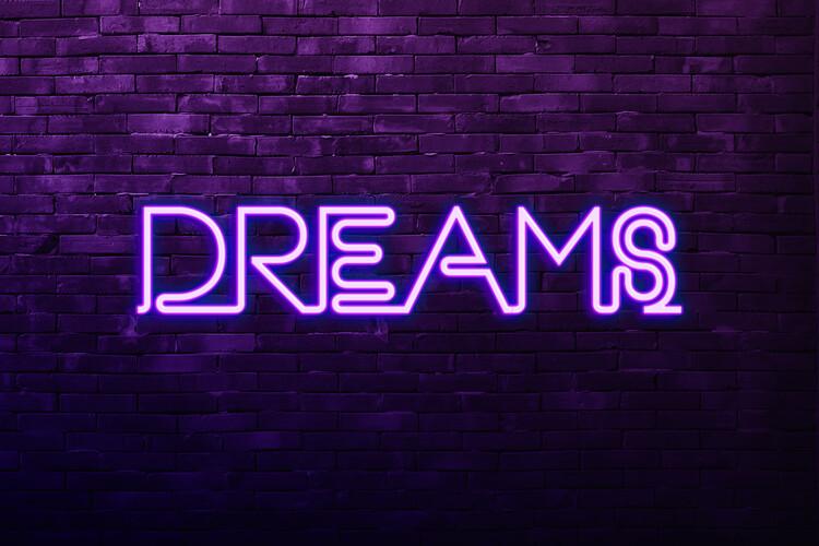 Exklusiva konstfoton Dreams