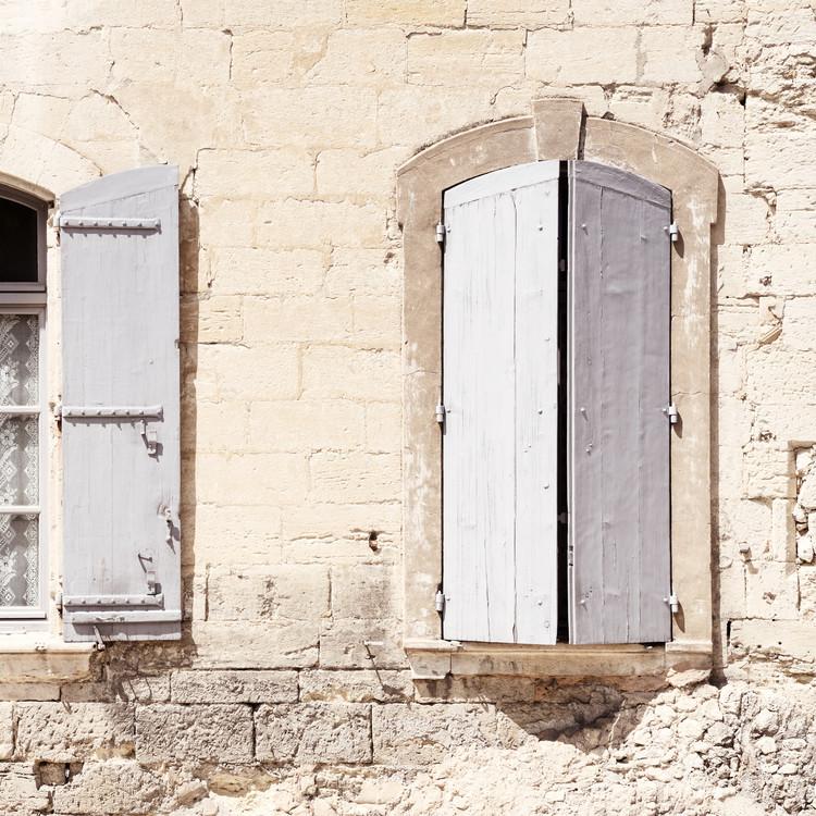 Exklusiva konstfoton French Windows