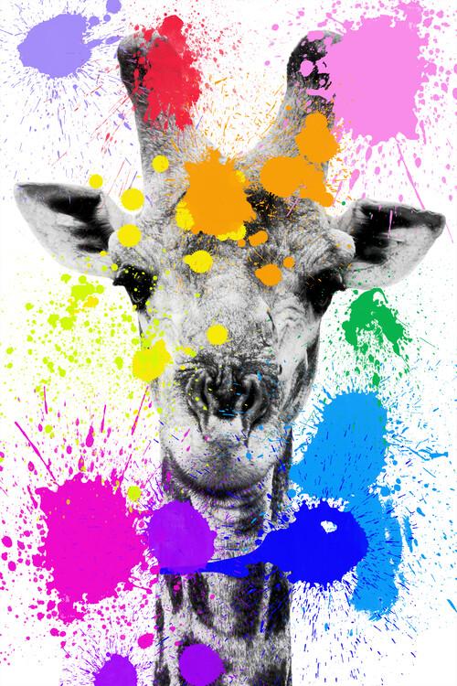 Exklusiva konstfoton Giraffe