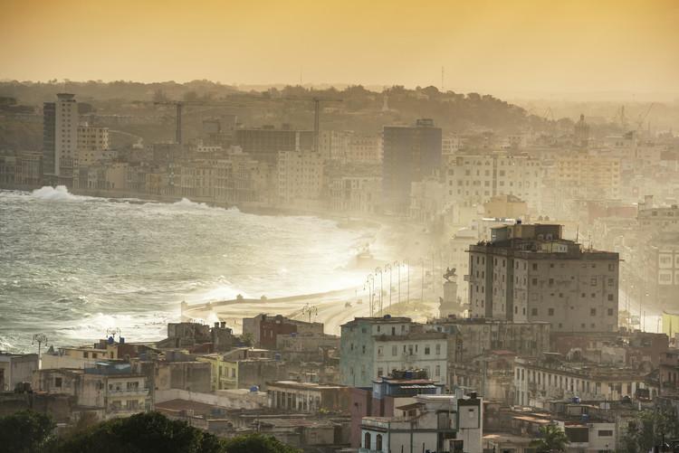 Exklusiva konstfoton Havana Sunrise
