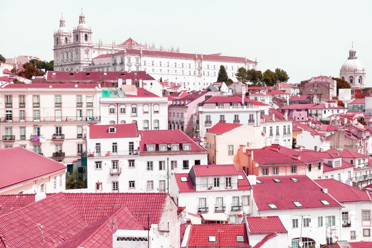 Exklusiva konstfoton Incredible Lisbon Pink