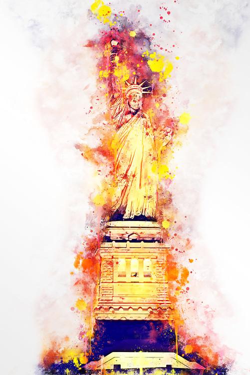 Exklusiva konstfoton Lady Liberty