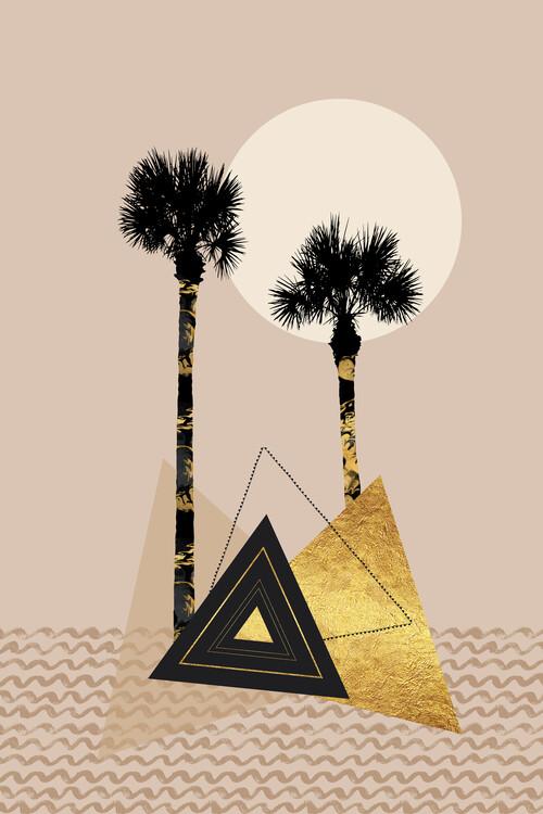 Exklusiva konstfoton Little Palm Island