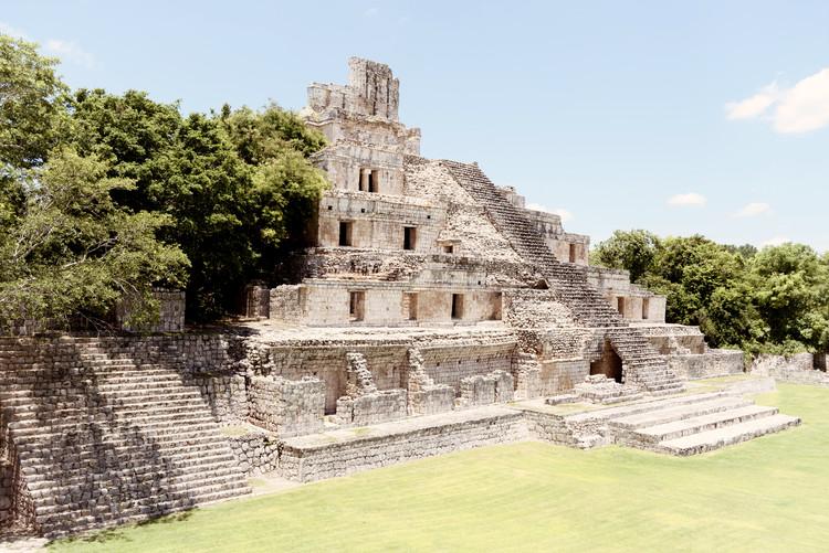 Exklusiva konstfoton Maya Archaeological Site