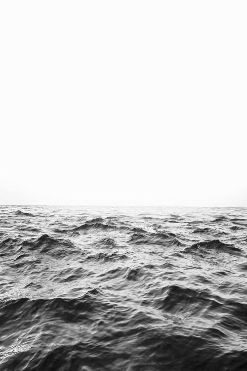 Exklusiva konstfoton Minimalist ocean