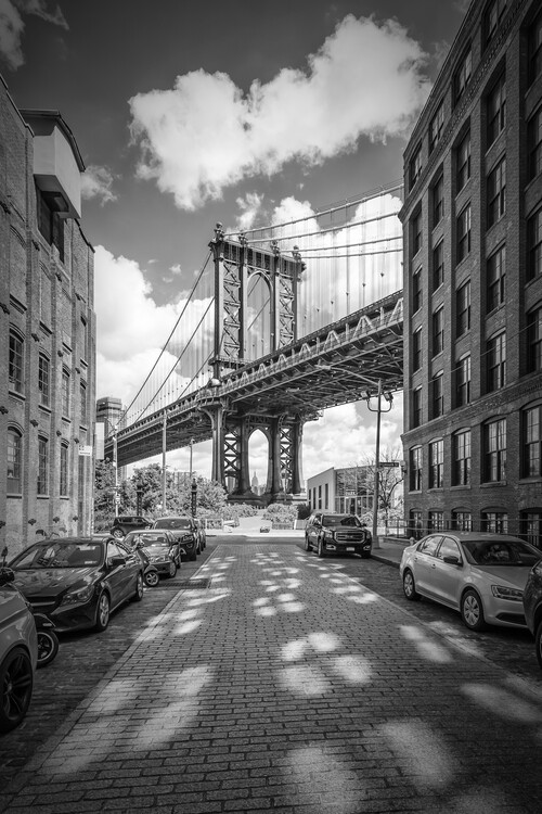 Exklusiva konstfoton NEW YORK CITY Manhattan Bridge