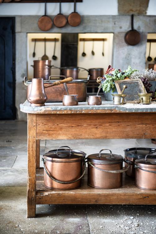 Exklusiva konstfoton Old Portuguese Kitchen
