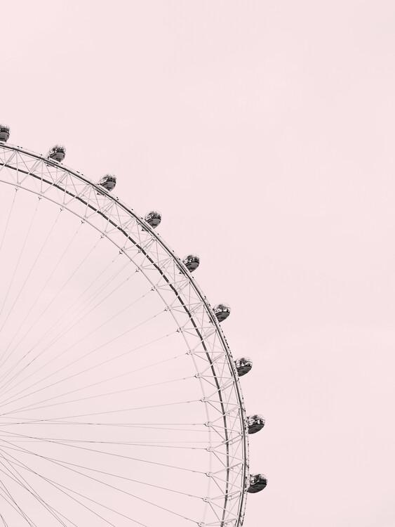 Exklusiva konstfoton Pink sky