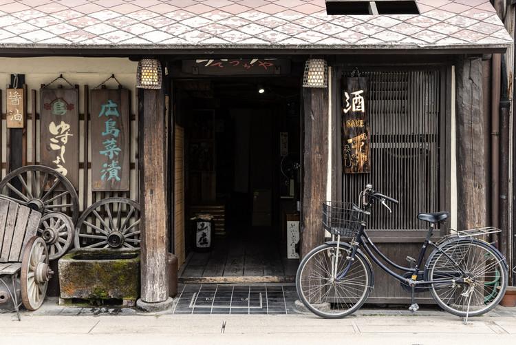 Exklusiva konstfoton Sake Shop