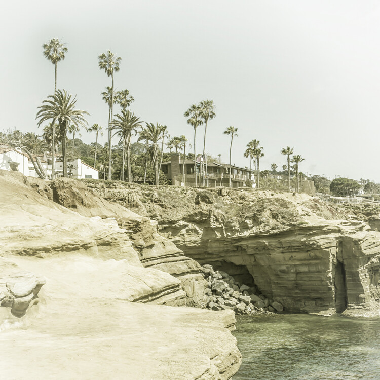 Exklusiva konstfoton SAN DIEGO Sunset Cliffs | Vintage