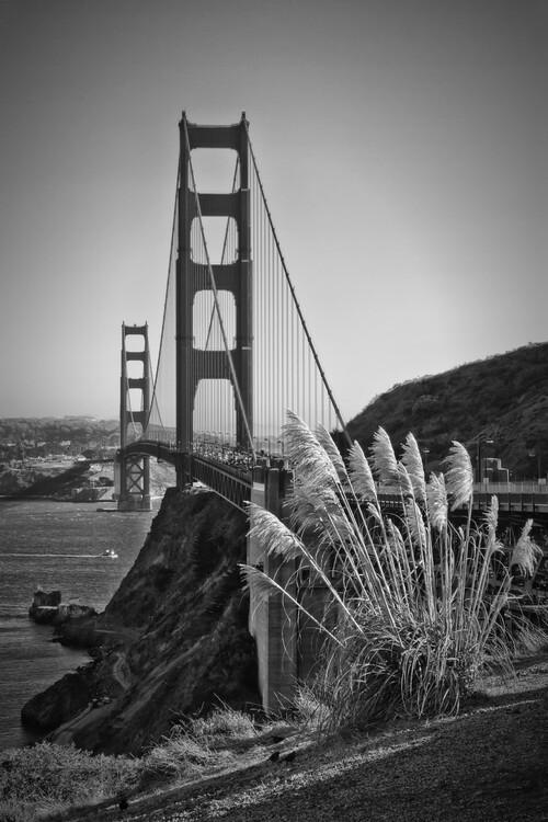 Exklusiva konstfoton San Francisco Golden Gate Bridge