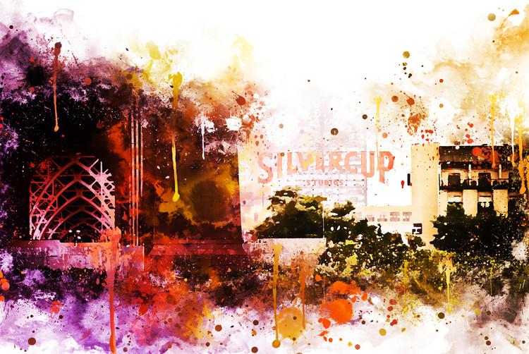 Exklusiva konstfoton Silvercup Studios