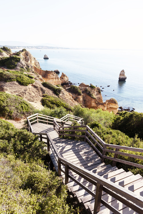 Exklusiva konstfoton Stairs to Camilo Beach