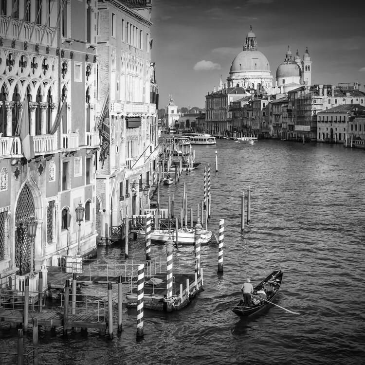 Exklusiva konstfoton VENICE Canal Grande & Santa Maria della Salute