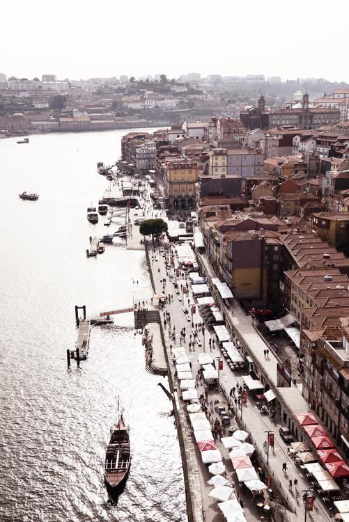 Exklusiva konstfoton View of Porto