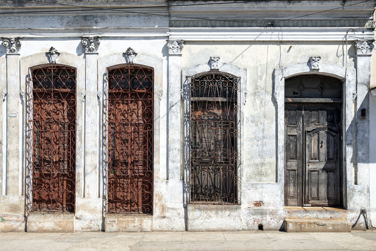 Exklusiva konstfoton Beautiful Cuban Facade