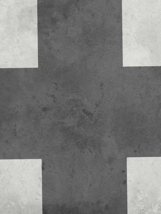 Exklusiva konstfoton black cross 1
