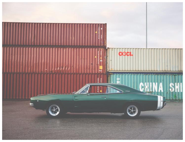 Exklusiva konstfoton bordergreencarsports1