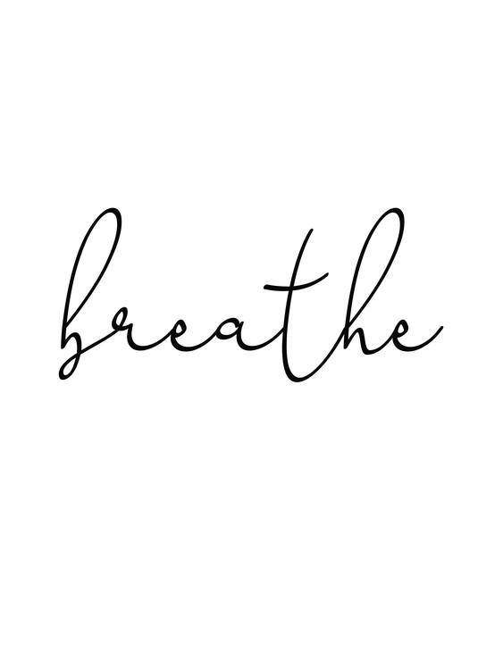 Exklusiva konstfoton breathe