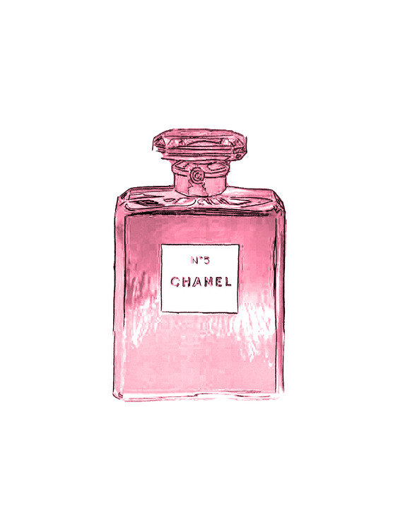 Exklusiva konstfoton Chanel No.5
