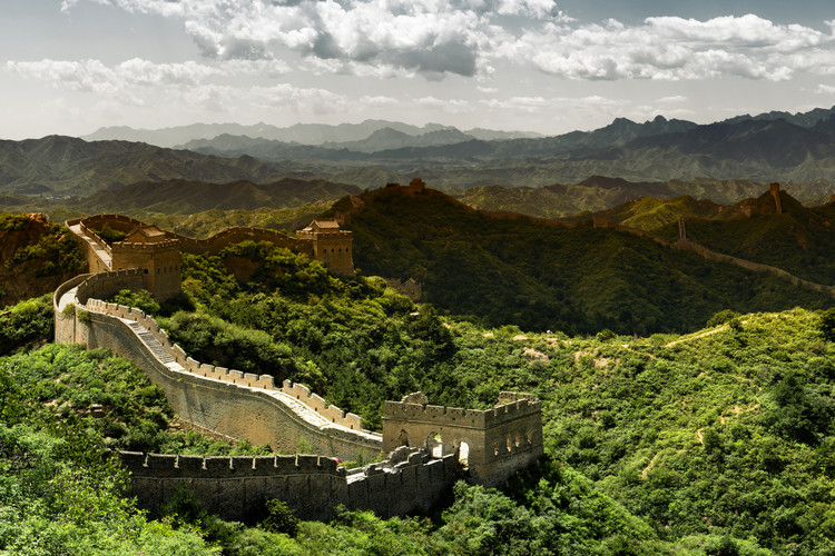 Exklusiva konstfoton China 10MKm2 Collection - Great Wall of China II