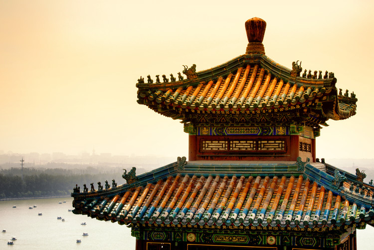 Exklusiva konstfoton China 10MKm2 Collection - Summer Palace Architecture